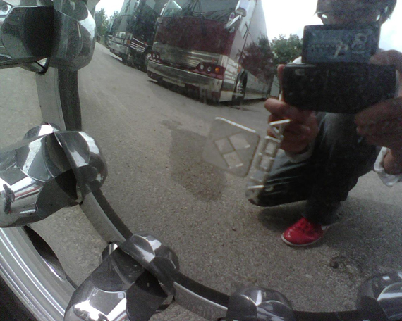 Tour mirror
