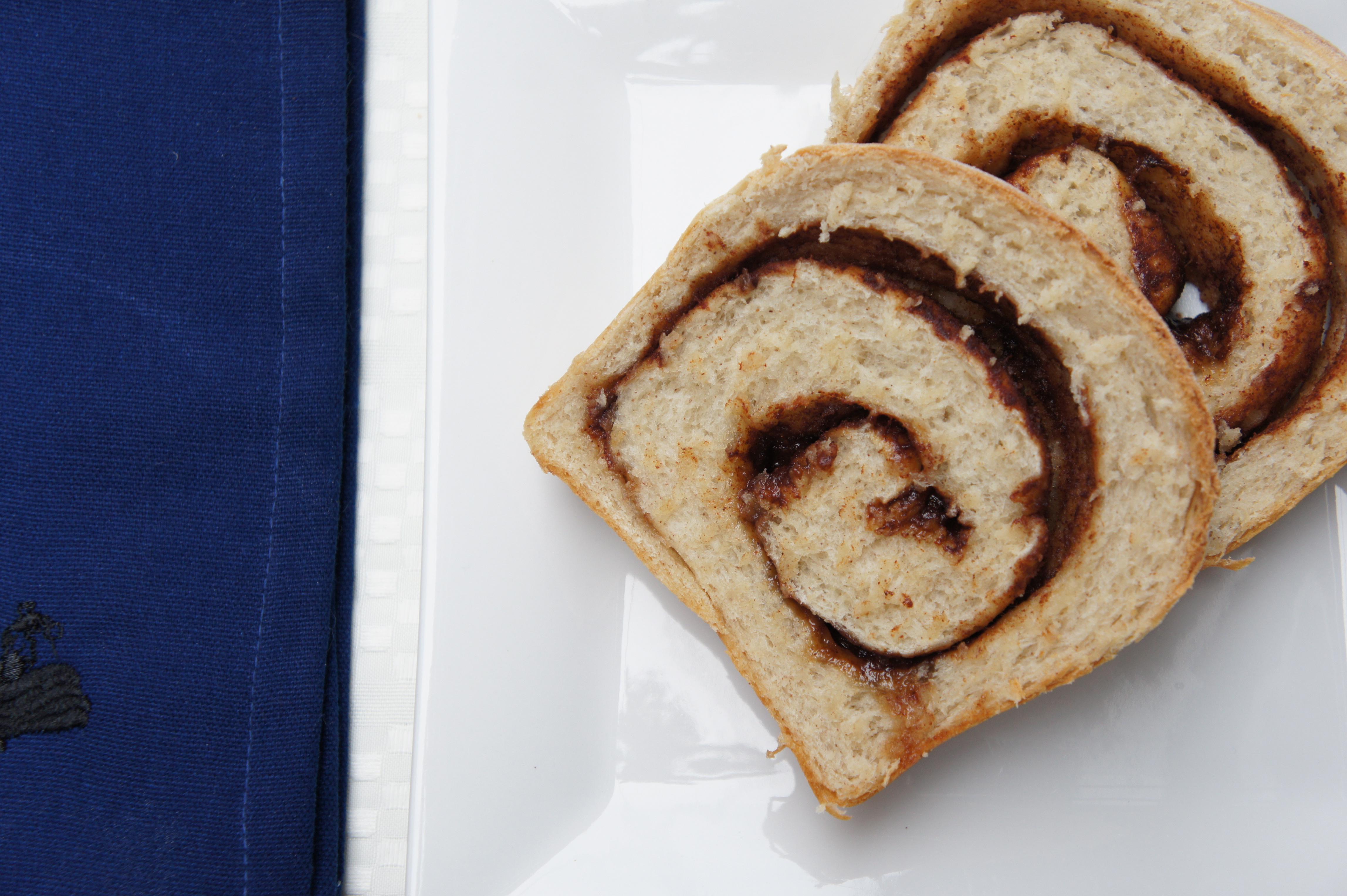 ... - Simple Food Healthy Life Home - Cinnamon Swirl Bread