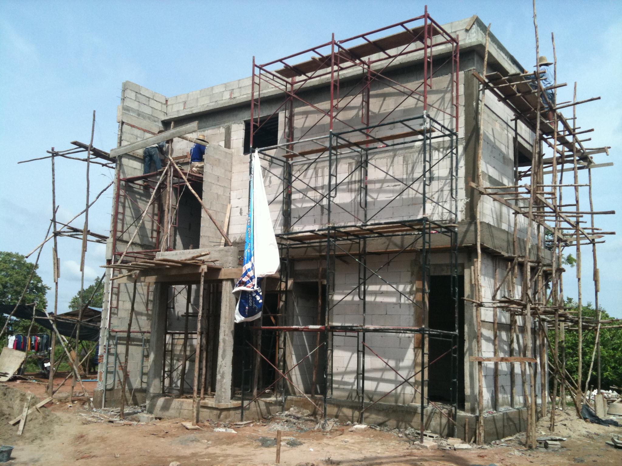 Final block work, wiring and rendering — NKD