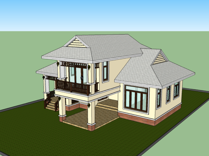 Building A Thai Style House House Design Ideas