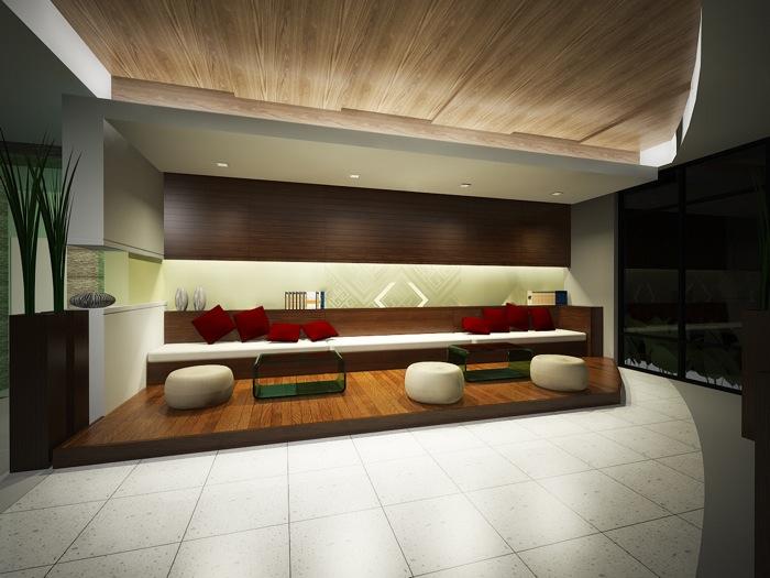 Hotel Reception Interior Design NKD