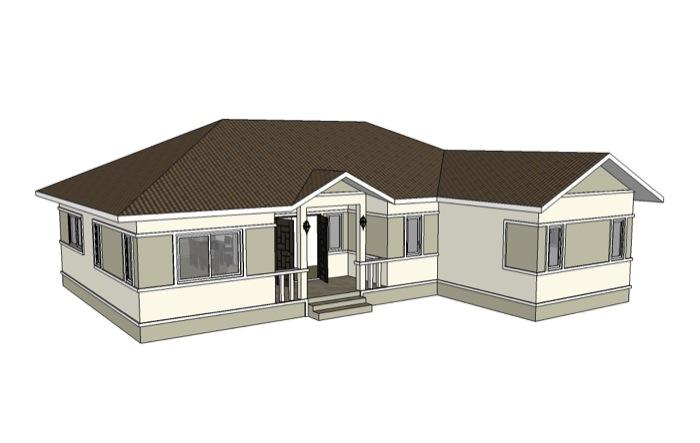 Phen - 3 Bedroom House No. 1 — NKD