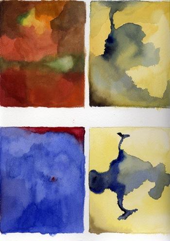 color bleeds 1-2-3-4