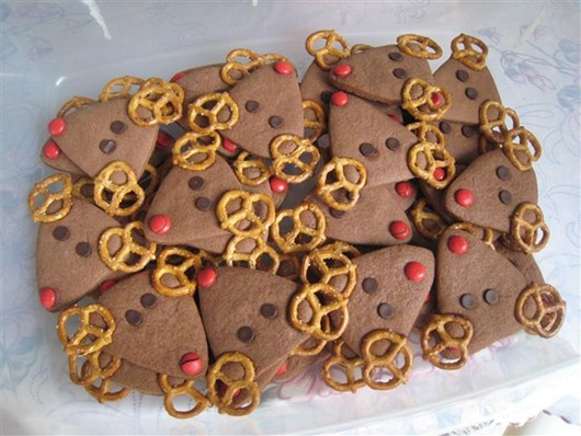 Reindeer cookie 3