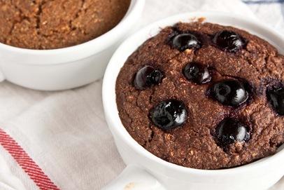 Cherry Chocolate Buckwheat Bake [serves 1]