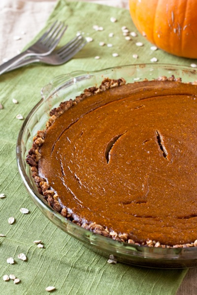 You can definitely find easier pumpkin pies to make, but this is by no ...
