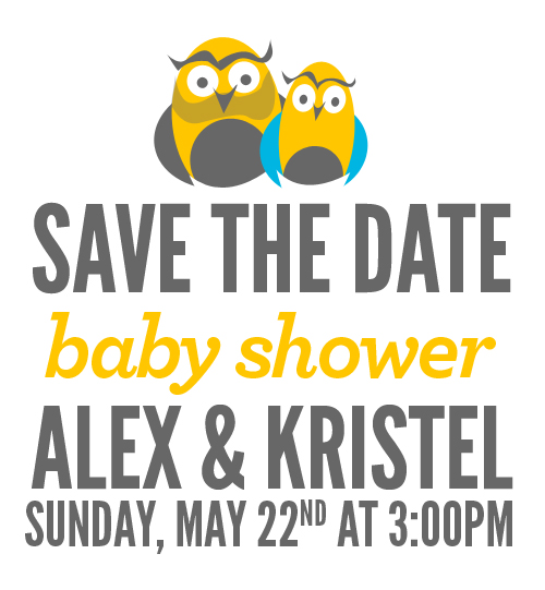 miami baby shower save the date kristel acevedo