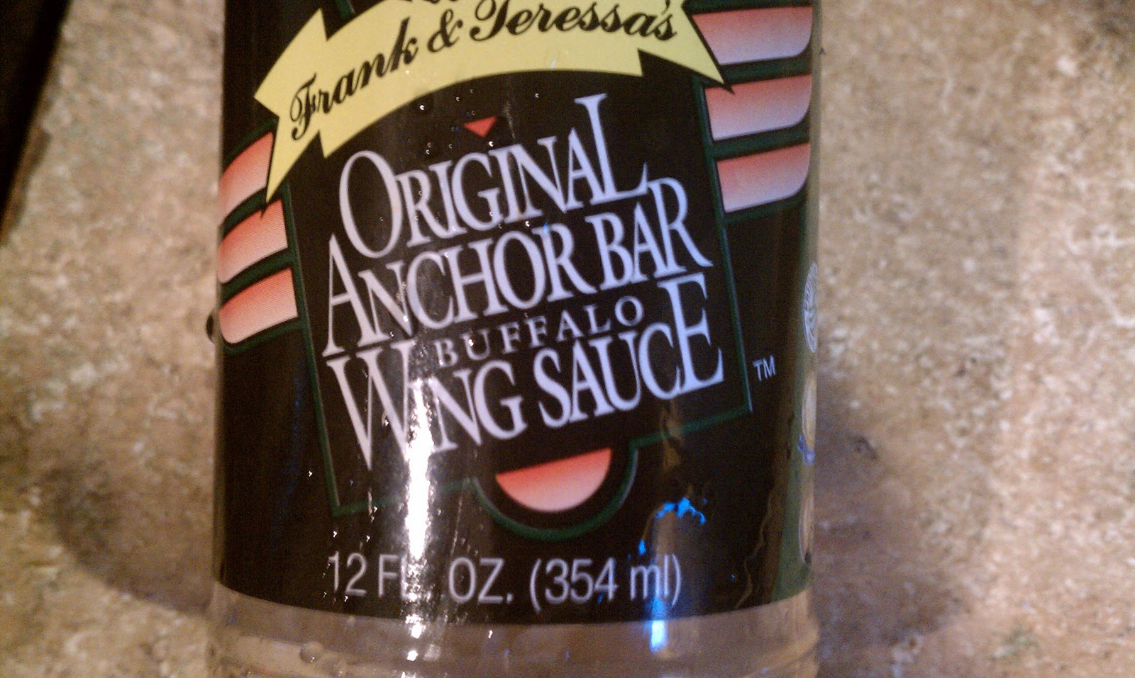 In Terms Of Starting Inspiration Doug Had About Half A Bottle Of Original Anchor Bar Buffalo Wing Sauce Anchor Bar Is The Restaurant In Buffalo Which
