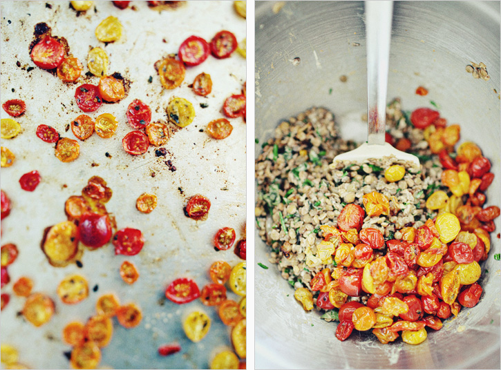SUMMER TOMATO LENTILS — Sprouted Kitchen