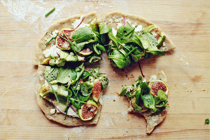RUSTIC FIG AND GOAT CHEESE PIZZA — Sprouted Kitchen