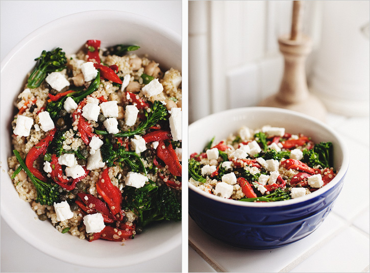 MEDITERRANEAN QUINOA BOWL — Sprouted Kitchen