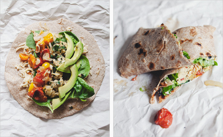PICNIC BREAKFAST BURRITOS — Sprouted Kitchen