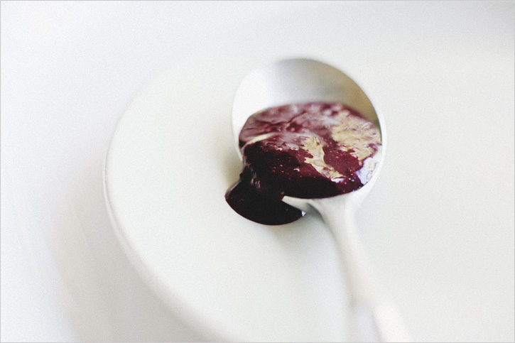Ginger Cakes With White Peaches + Blackberry Coulis Recipes ...