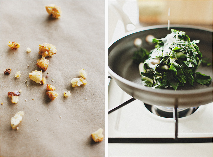 SUNNY EGGS + MUSTARD-CREAMED CHARD - SPROUTED KITCHEN - A Tastier Take ...