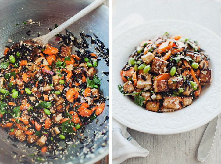 WILD RICE SALAD WITH MISO DRESSING — Sprouted Kitchen