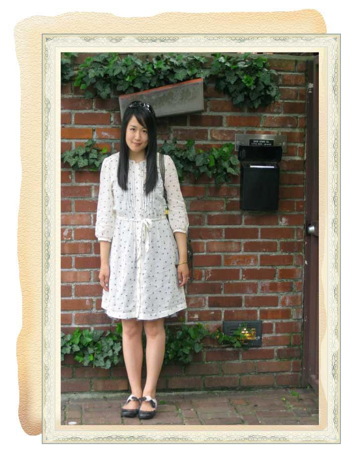 Bird-print-dress