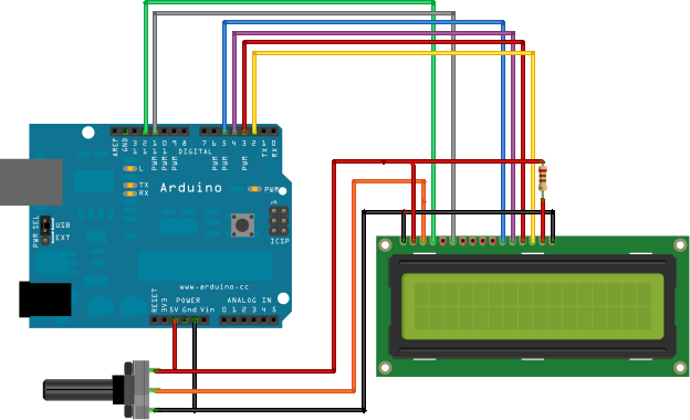 arduino hello world www hoaglun com rh hoaglun com connect arduino lcd display arduino lcd screen wiring
