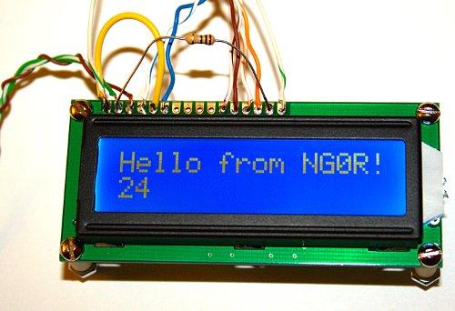 Arduino hello world — hoaglun