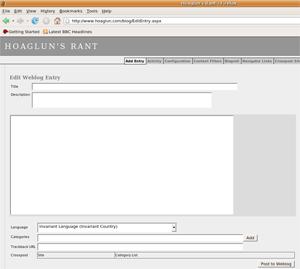 Firefox on Linux Ubuntu - DasBlog