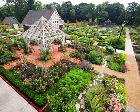 Mksk News Franklin Park Conservatory Community Garden Showcases Beauty And Benefits Of