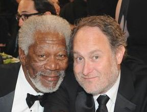 Morgan Freeman and Jon Turteltaub