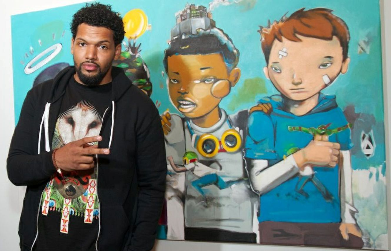 Hebru Brantley Banner