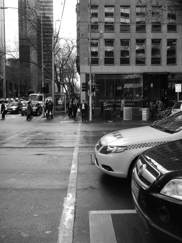 Collins Street, late Winter