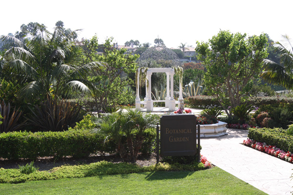 The Botanical Gardens at the St. Regis Monarch Beach