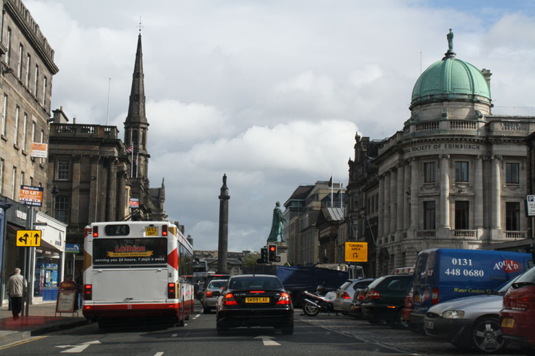 Driving Through Edinburgh With No Idea of Where to go.
