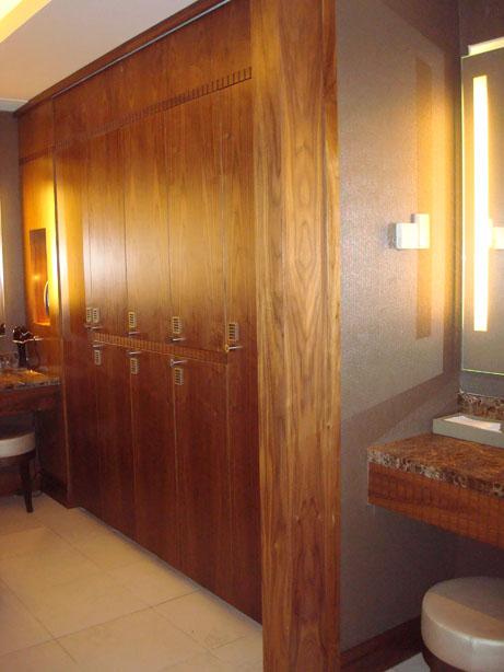 Gleneagles Spa Locker Room