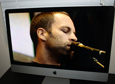 Watching Jack Johnson DVD on New iMac