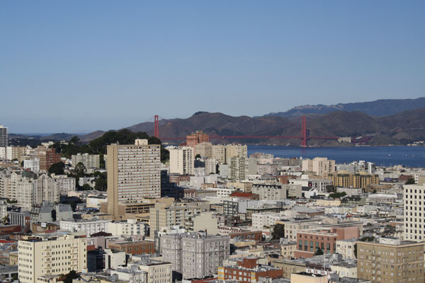 San Francisco Road Trip: View from 44th Floor