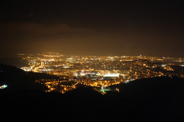 City View from Gran Hotel La Florida