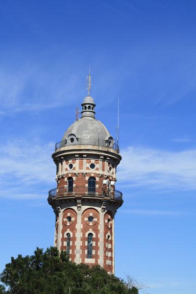 Beautiful Tower in Tibidabo