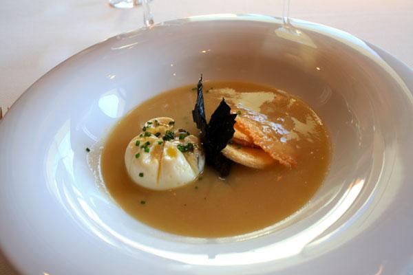Onion Soup at Lunch at Gran Hotel La Florida