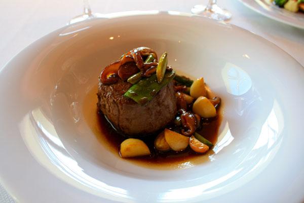 Filet of Beef at Lunch at Gran Hotel La Florida