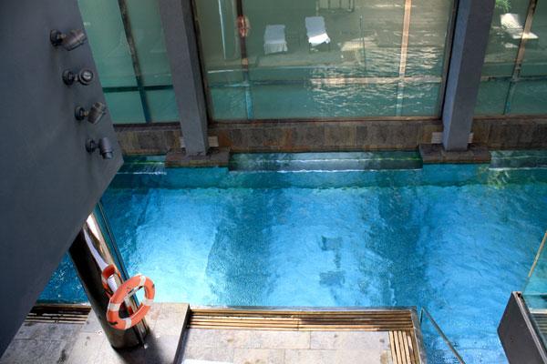 Infinity Pool at Gran Hotel La Florida