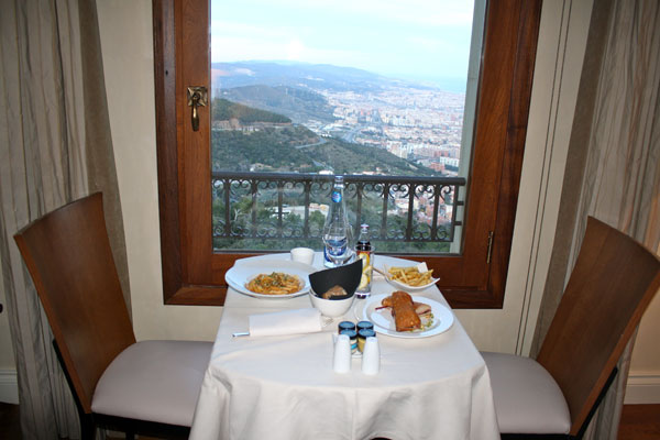 Beautiful View with Room Service