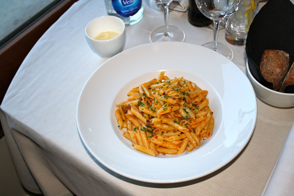 Pasta Bolognase from Room Service