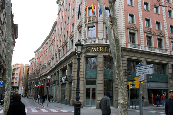Le Meridian Barcelona, Spain