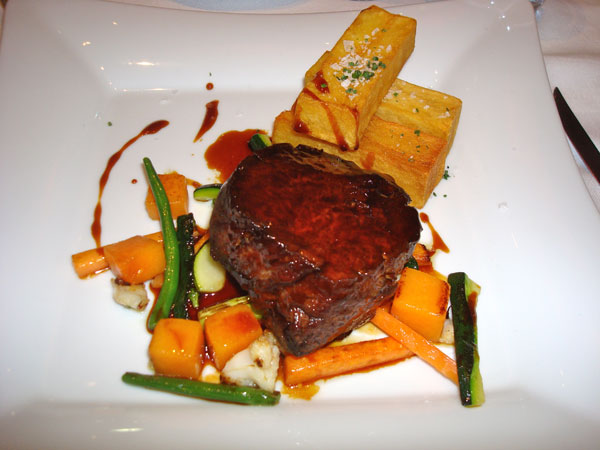Filet of Beef at Cent 111 Once