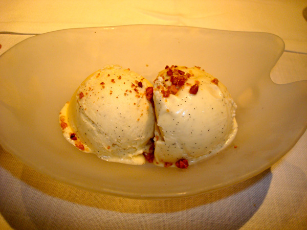 Plain Vanilla Ice Cream at Cent 111 Once