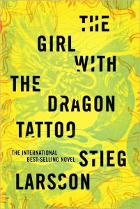 The Girl With the Dragon Tattoo Book Cover Art
