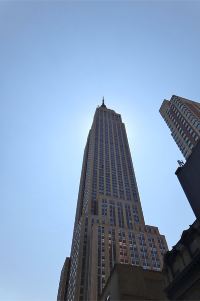 Awesome Shot of the Empire State Building