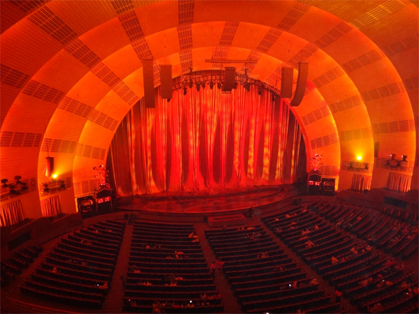 A View of the Stage at Radio City Music Hall