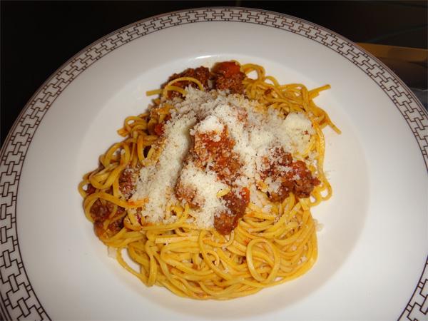 Jenn's Pasta from Room Service