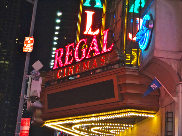Regal Cinemas in Time Square