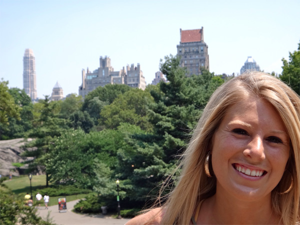 Beautiful Shot of Jenn in Central Park