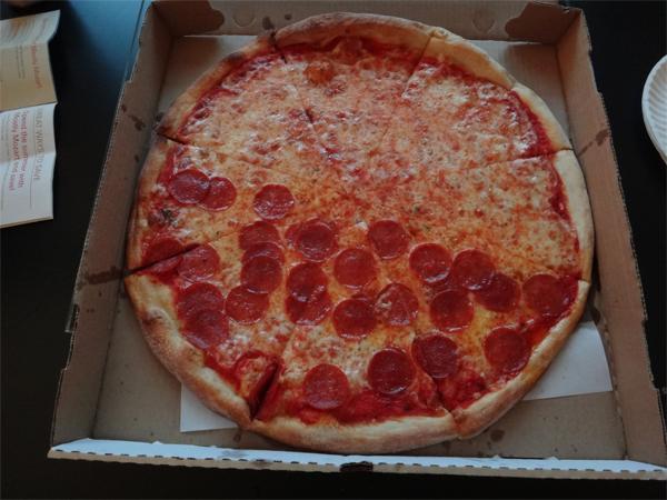 A Big New York Pizza