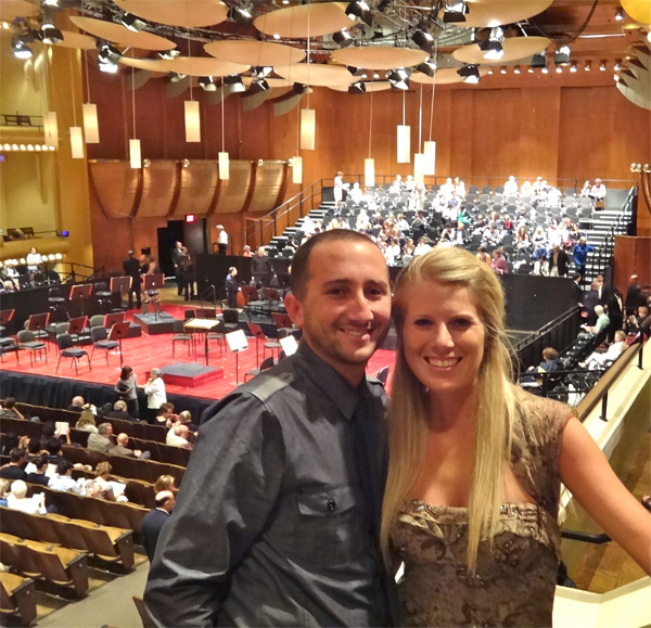 Getting Ready for a Beautiful Symphony
